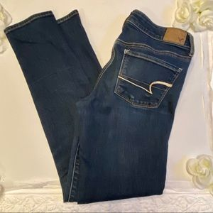 American Eagle jeans skinny stretch ankle 4 long